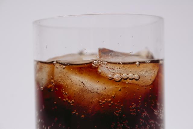 美味しそうなコーラの画像
